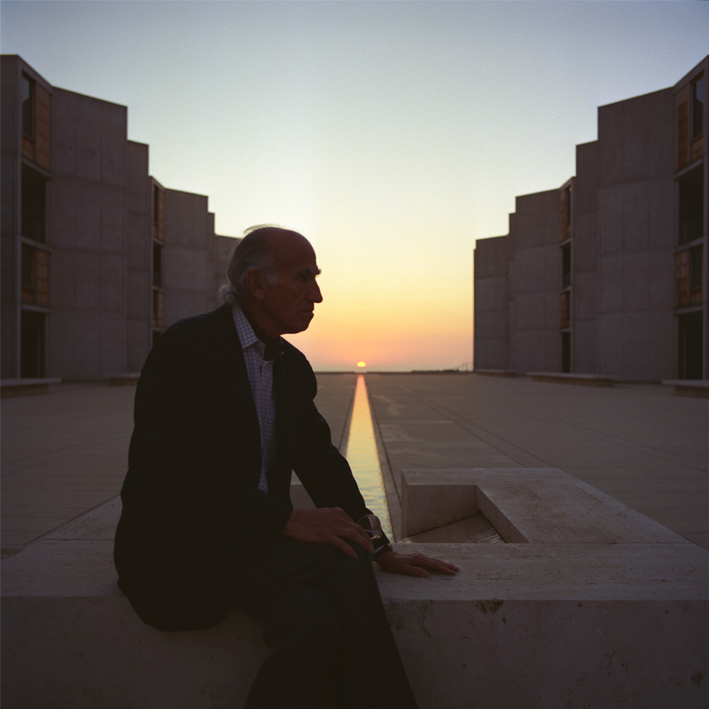 Jonas Salk at the Spring equinox, 1988