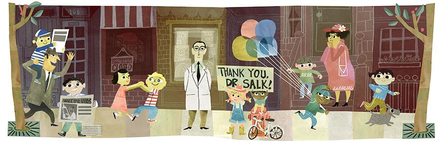 Google Doodle Salk